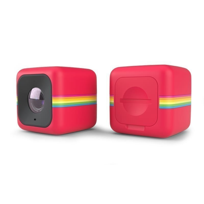 Polaroid Cube + 1SIZE Red