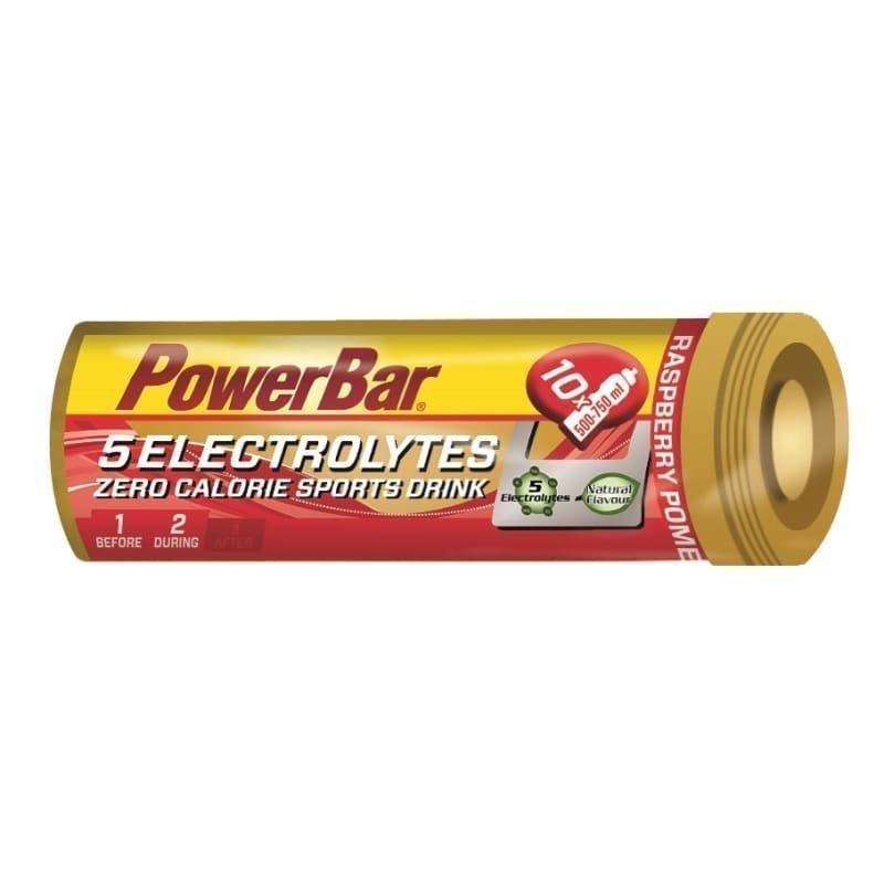 Powerbar 5 Electrolytes Tabs 1SIZE RASPBERRY-POMEGRANAT