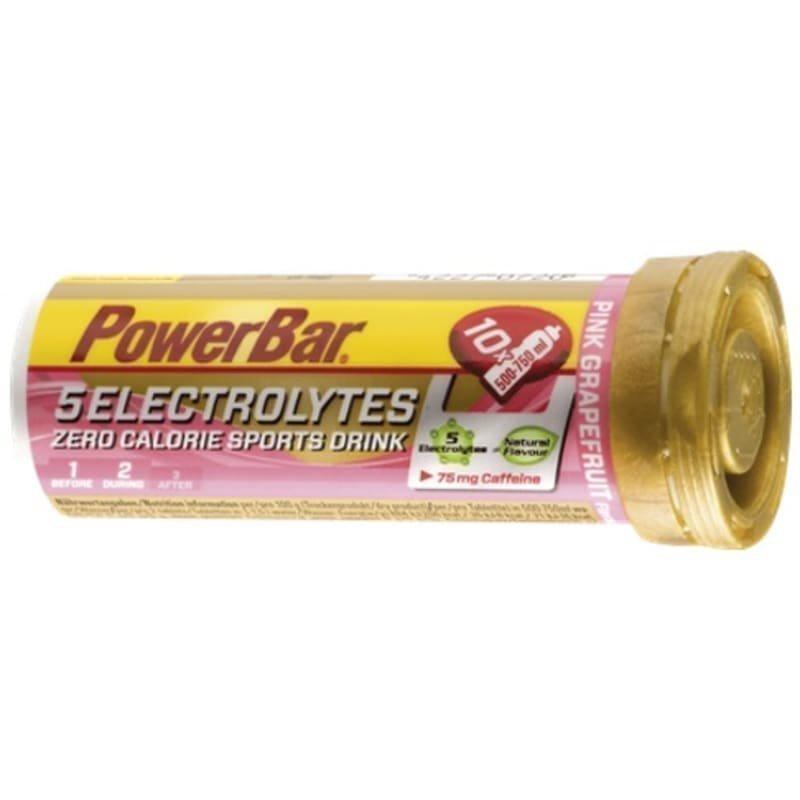 Powerbar 5 Electrolytes Tabs Caffeine 1SIZE PINK GRAPEFRUIT