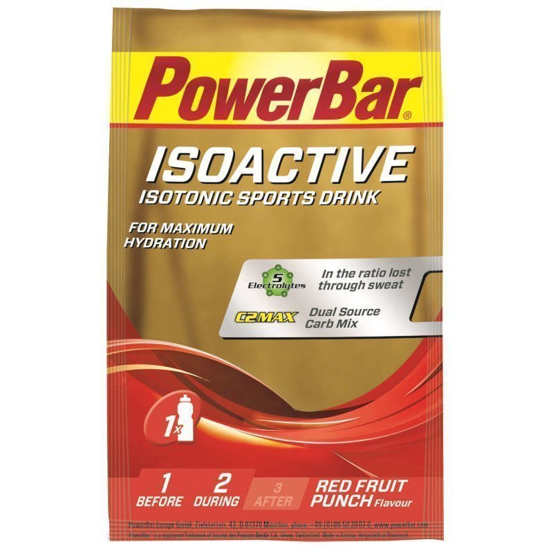 Powerbar IsoActive Single Serve 30g Red Fruit Punch Red Fruit Punch