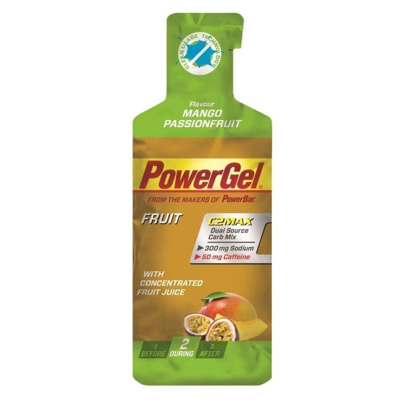 Powerbar PowerGel Fruit Mango/Passionfruit+Caffeine MANGO PASSIONFRUIT