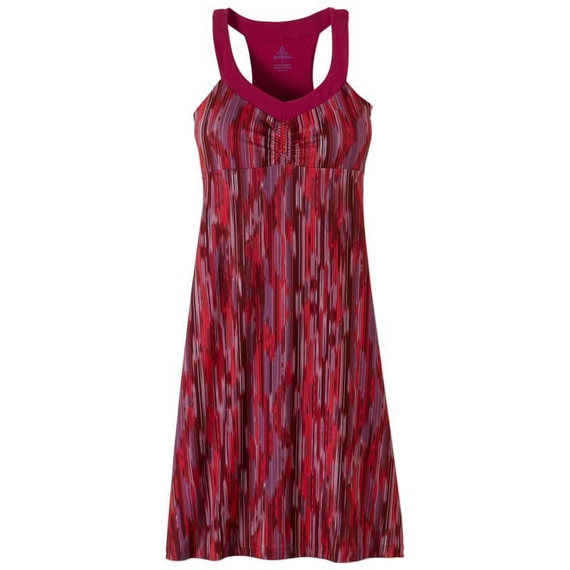 Prana Shauna Dress XS AZALEA RAINBLUR