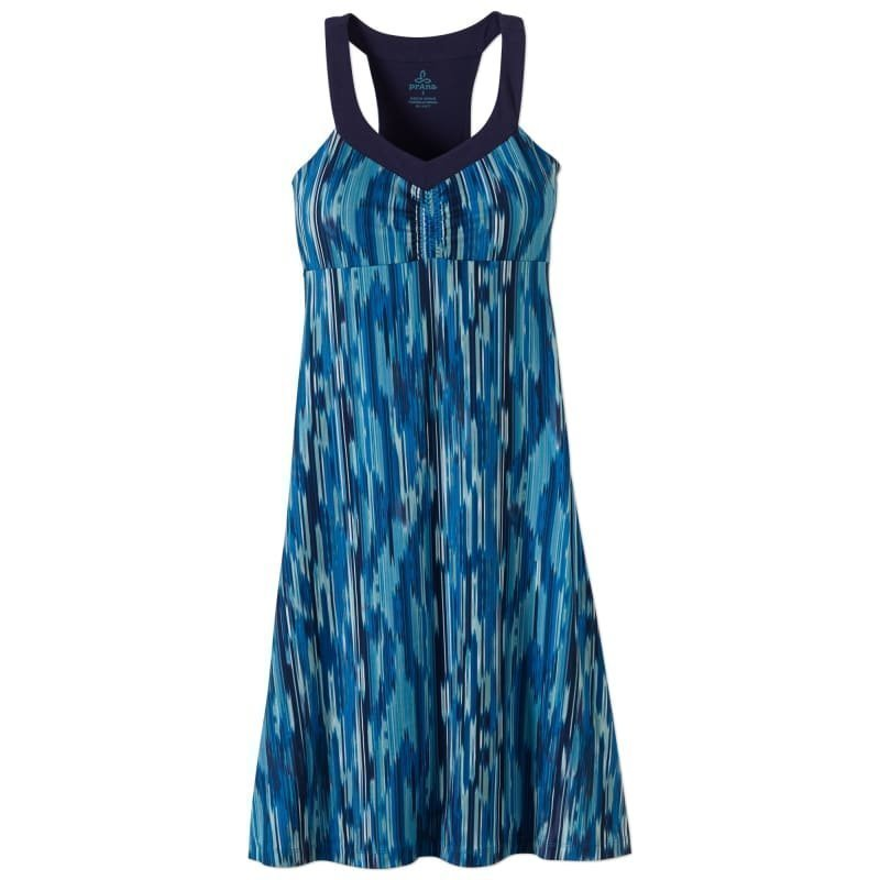 Prana Shauna Dress XS BLUE RAINBLUR