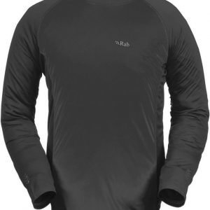 Rab Aeon Long Sleeve Tee Men Dark Grey L