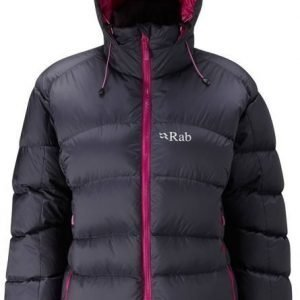 Rab Ascent Women's Jacket dark grey 16