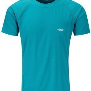 Rab Interval Tee Men Turkoosi XL