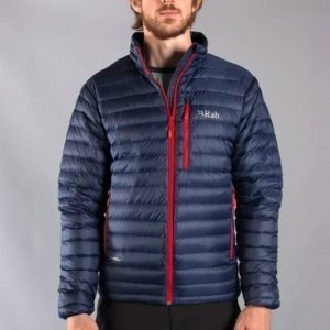 Rab Microlight Alpine Jacket Tummansininen L