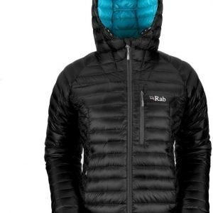 Rab Microlight Alpine Women's Jacket Musta 8