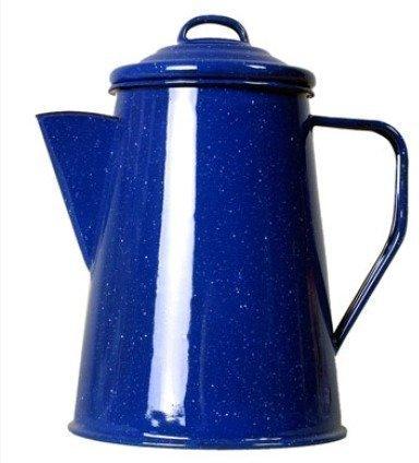 Relags emalinen kahvipannu 1L sininen