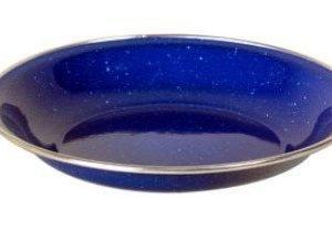 Relags emalinen syvä lautanen Ø 20 cm sininen