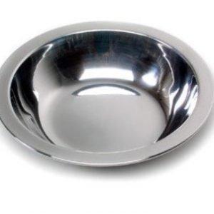 Relags syvä lautanen ruostumatonta terästä