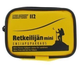 Retkeilijän Mini Ensiapupakkaus