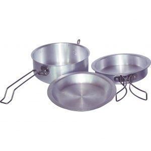 Retki Camp'n'cook Kattilasetti Alumiininen