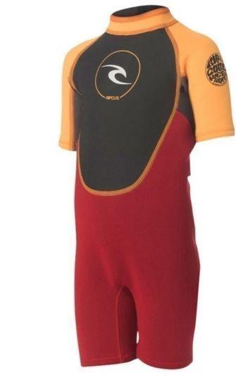 Rip Curl Kids Dawn Patrol Spring lasten märkäpuku oranssi/punainen 6V