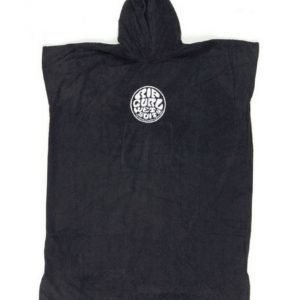 Rip Curl Wetty Hooded Towel Black Puettava pyyhe / ponzo