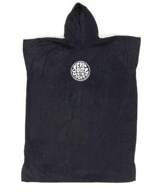 Rip Curl Wetty Hooded Towel Black Puettava pyyhe / ponzo