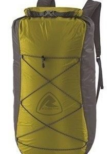 Robens Ultra Light Dry Pack Light Olive päiväreppu