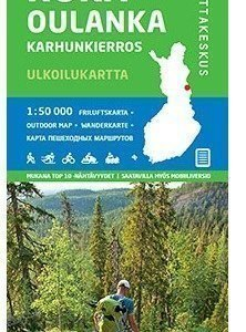 Ruka Oulanka (Karhunkierros) 1:50 000 2015