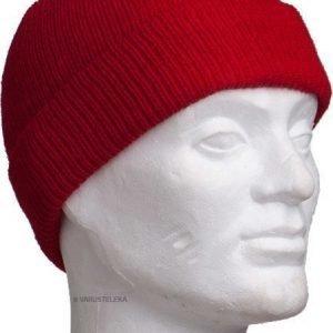 Särmä villapipo punainen