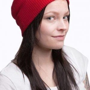 Särmä villapipo punainen tyttökuvalla