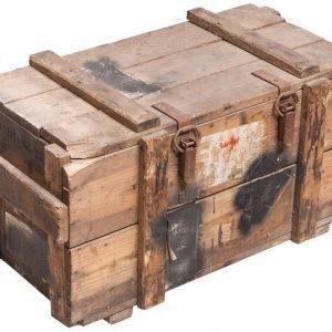 SA Krh 81 heittimen kranaattien puulaatikko ylijäämä
