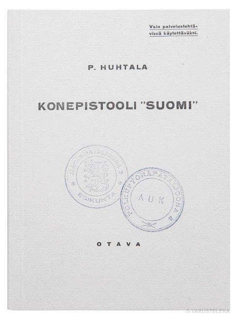 SA M/31 Suomi konepistoolin ohjekirja