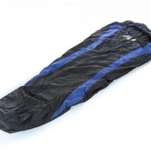 S.Gear Summer Sleep +8 Makuupussi Musta / Sininen