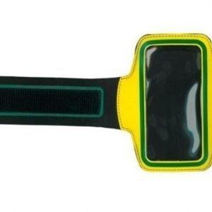 SSport Armband käsivarsikotelo älypuhelimelle keltainen
