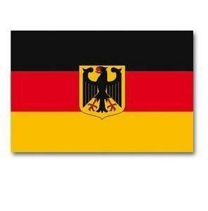 Saksan liittotasavallan sotalippu 150 x 90 cm