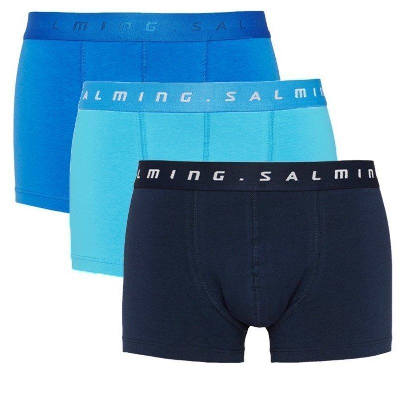 Salming Abisko boxer 3-pack M Blue + Light Blue + Navy