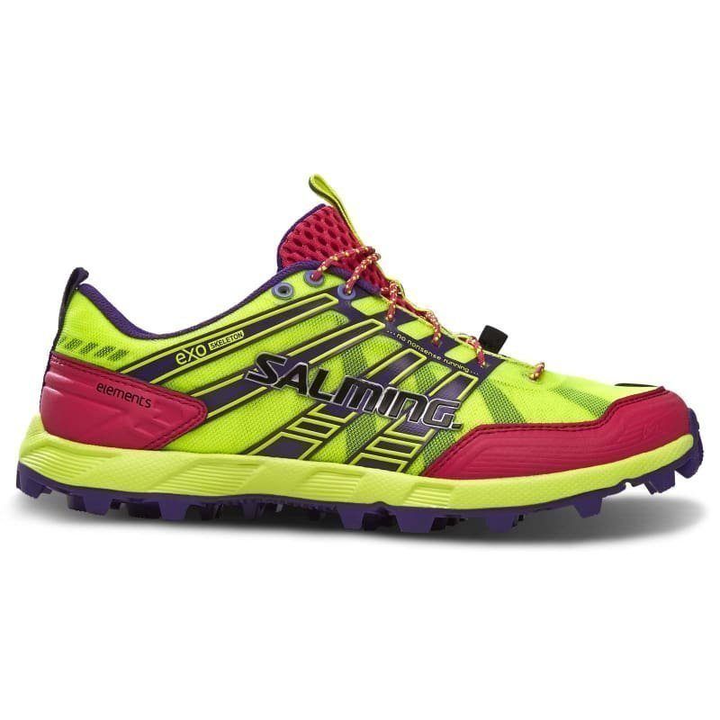 Salming Elements Shoe Women 41 1/3 Safety Yellow/Pink Glow