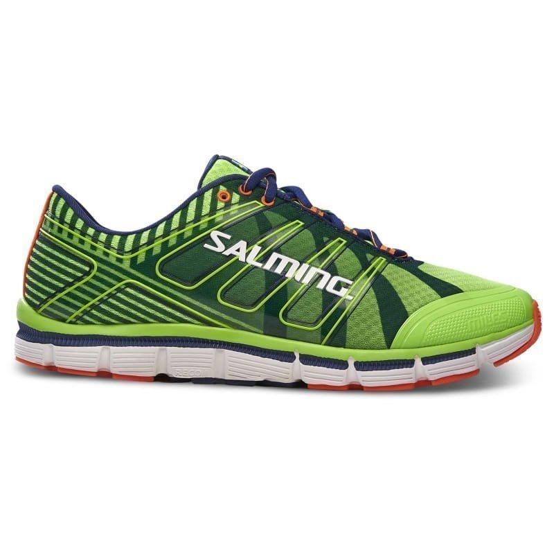 Salming Miles Shoe Men 46 2/3 GECKO GREEN/NAVY