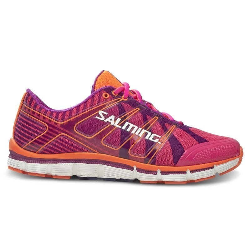 Salming Miles Shoe Women 39 1/3 PINKGLO/PURPLECACTUSFLOWER