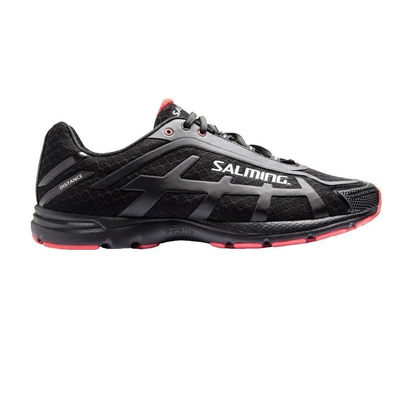 Salming Salming Distance D4 Shoe Men 46 Black/Red