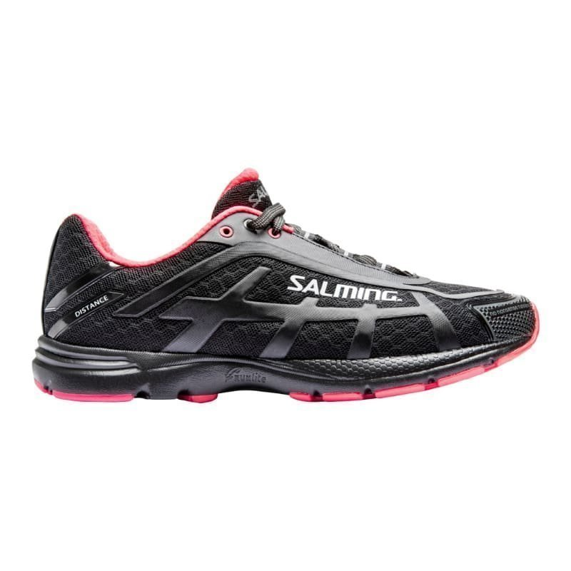 Salming Salming Distance D4 Shoe Women 36 Black/DivaPink