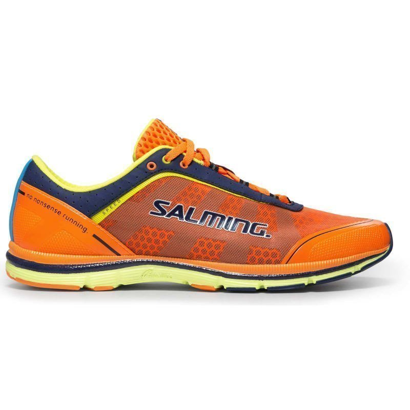Salming Speed 3 Shoe Men 45 1/3 SHOCKINGORANGE