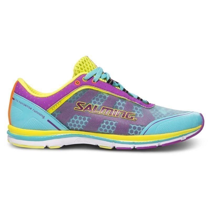 Salming Speed 3 Shoe Women 39 1/3 TURQUOISE/CACTUSFLOWER