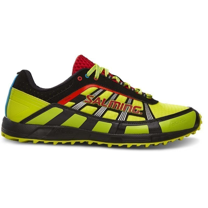 Salming Trail T2 Shoe Men 46 2/3 SAFETY YELLOW/BLACK