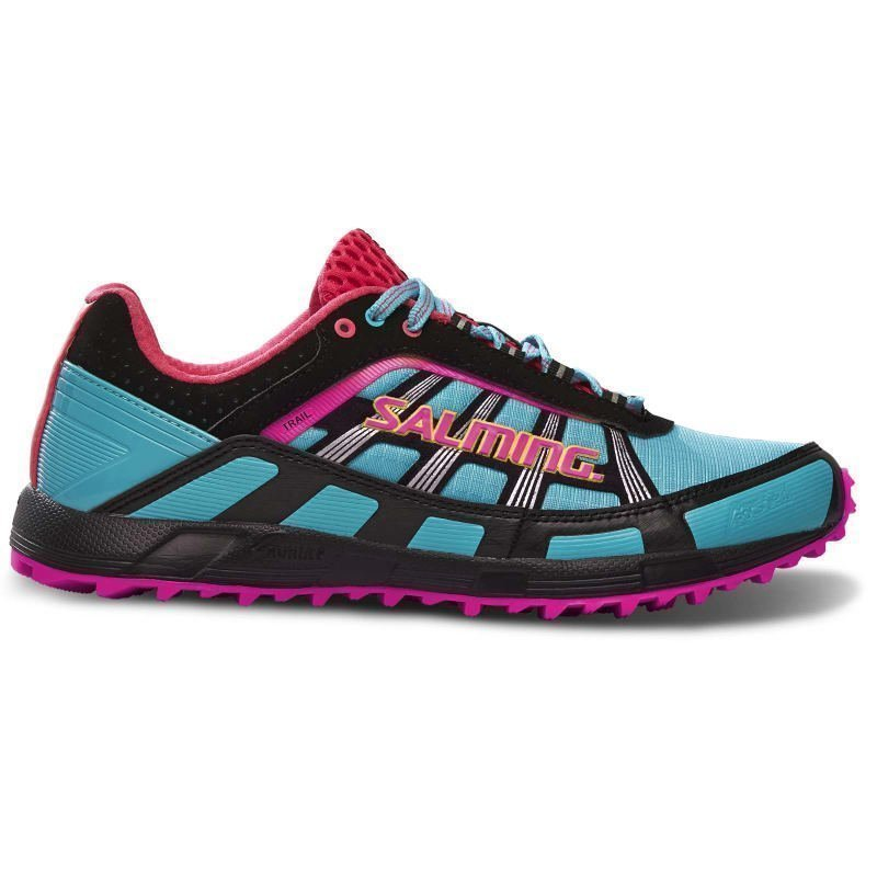 Salming Trail T2 Shoe Women 38 TURQOUISE/BLACK