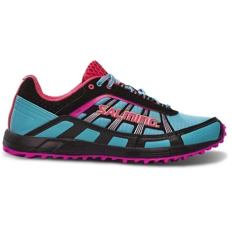 Salming Trail T2 Shoe Women 39 1/3 TURQOUISE/BLACK