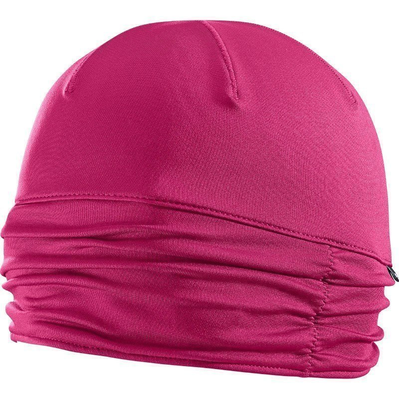 Salomon Active Beanie W OneSize Guara Pink