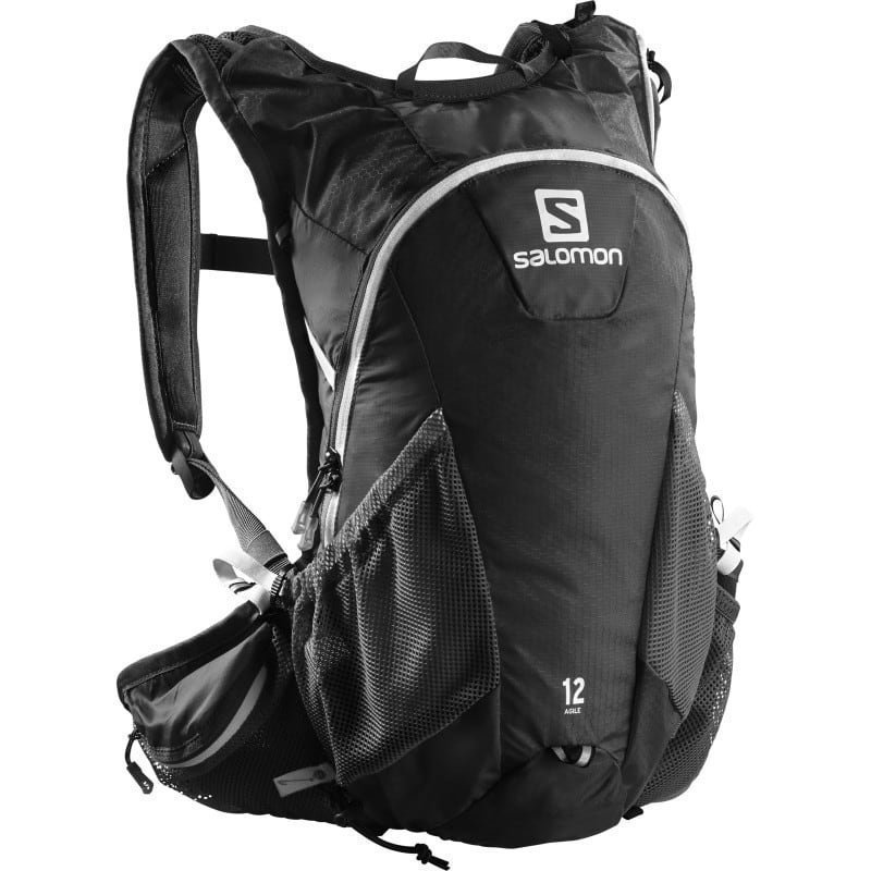 Salomon Agile² 12 Set NS Black Iron White