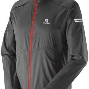 Salomon Agile Jacket Men Musta L