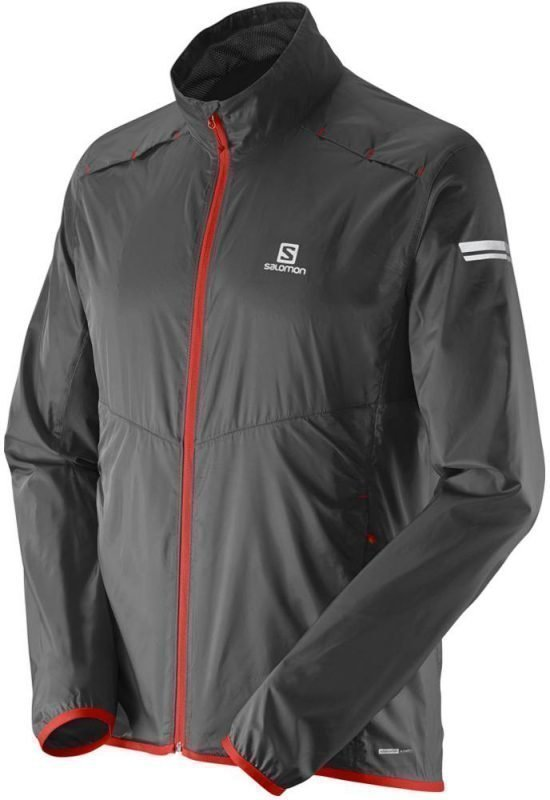 Salomon Agile Jacket Men Musta XXL