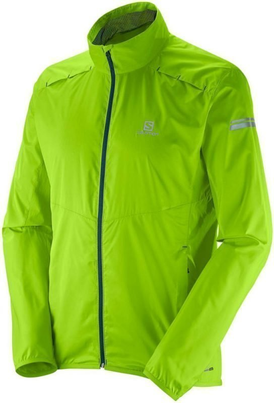 Salomon Agile Jacket Men Vaaleanvihreä L
