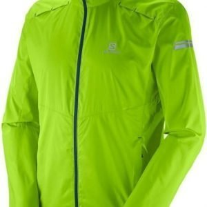 Salomon Agile Jacket Men Vaaleanvihreä XL