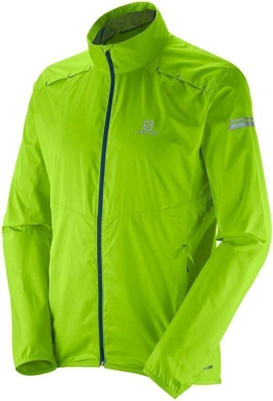 Salomon Agile Jacket Men Vaaleanvihreä XL
