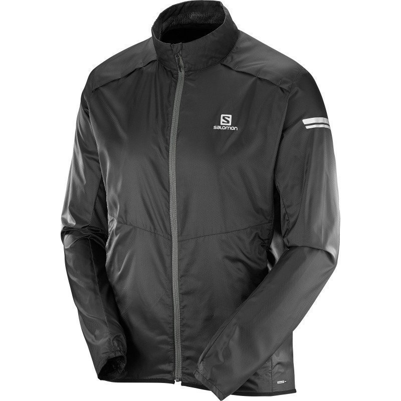 Salomon Agile Jacket Men's S Black