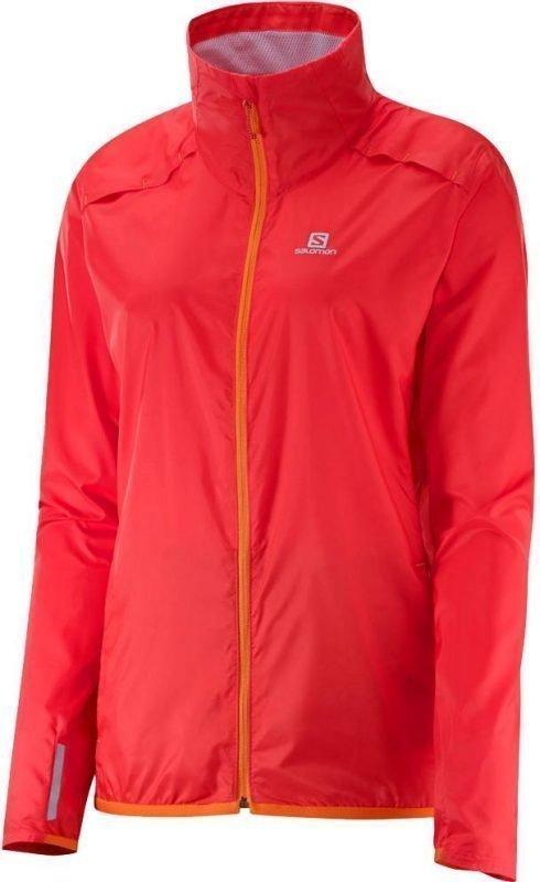Salomon Agile Jacket Women Oranssi S