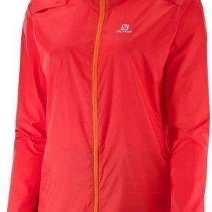 Salomon Agile Jacket Women Oranssi XS